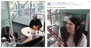 Rádio Rebeca ponúka pri rozhovoroch so zaujímavými hosťami okrem zvuku aj živý obraz