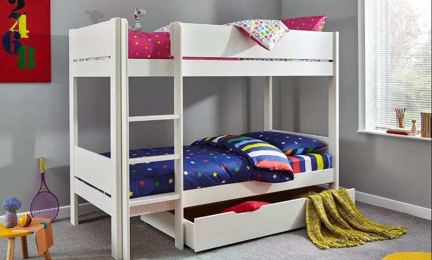 Máte doma viac ratolestí? Podľa čoho vybrať poschodovú posteľ?