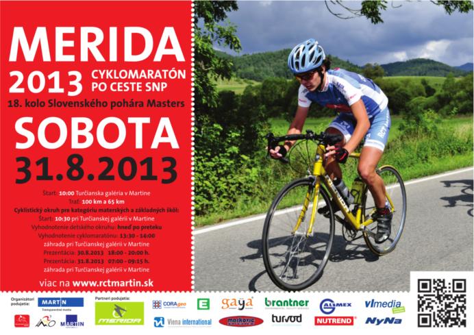 , Cyklistický maratón po ceste SNP už 31. augusta