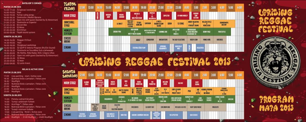 , Pozývame Vás 23. augusta na Uprising Reggae festival na Zlatých pieskoch