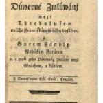, René – prvý román v slovenčine z 18. storočia si môžete prečítať už aj v digitálnej podobe