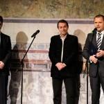 , František Výrostko za mikrofónom Rádia Rebeca