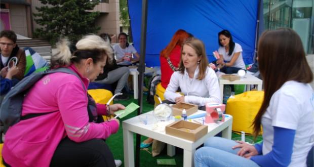 , V Martine študenti zubného lekárstva šírili osvetu v oblasti ústnej hygieny