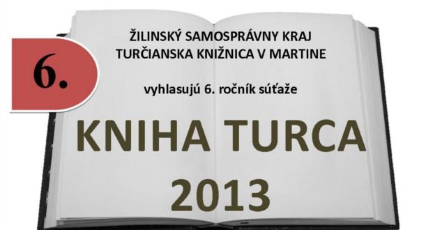 , Poznáme výsledky ankety Kniha Turca 2013