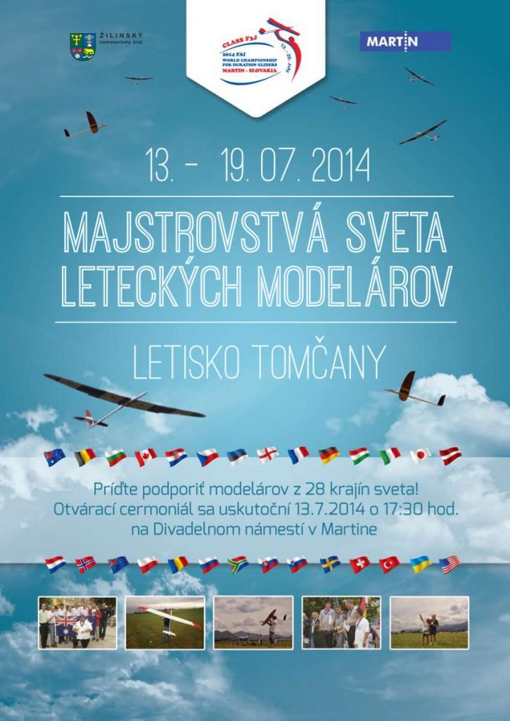 , Do Martina zavítajú leteckí modelári z 28 štátov
