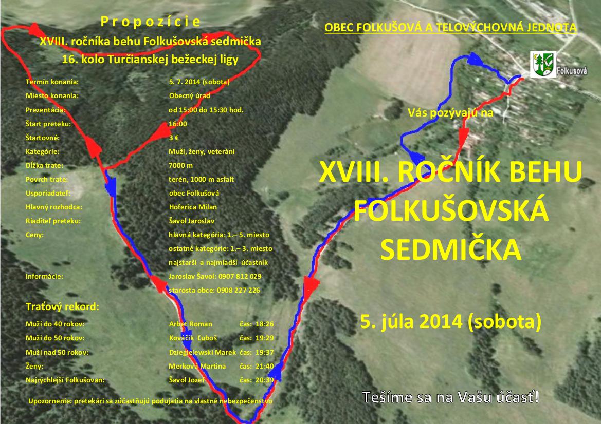 , Zabehnite si Folkušovskú sedmičku už túto sobotu!