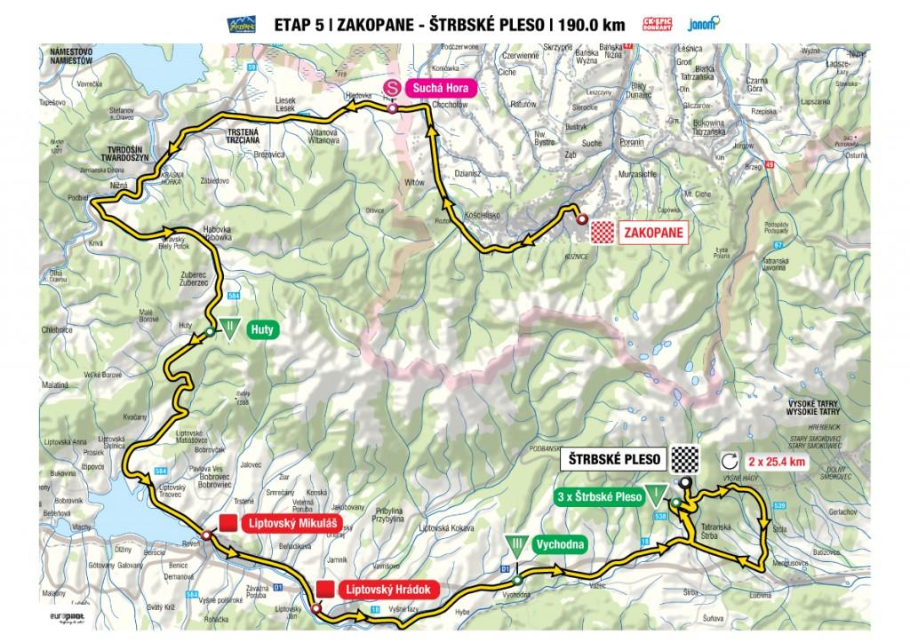 , Pre Žilinský kraj platia v rámci medzinárodných cyklistických pretekov Tour de Pologne rozsiahle dopravné obmedzenia
