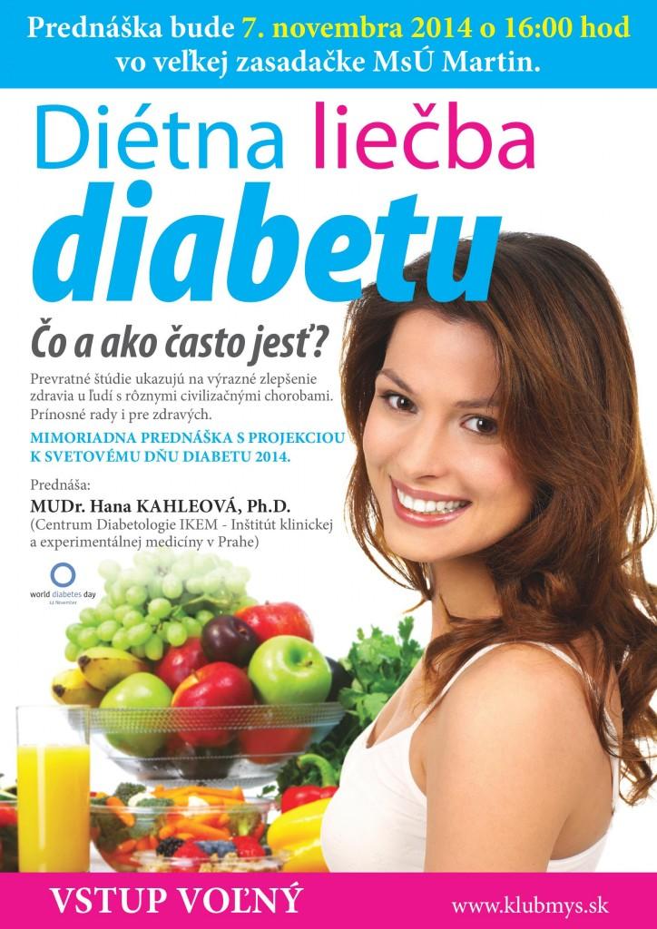 , Mimoriadna prednáška s projekciou k Svetovému dňu diabetu 2014