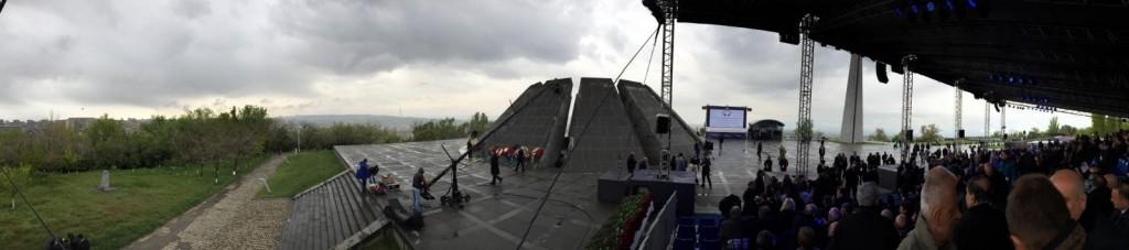 , Slovensko si uctilo arménske obete genocídy v Jerevane. Zastúpil ho predseda SNS Andrej Danko