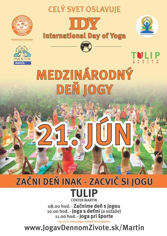 , Medzinárodný deň jogy (21. júna)