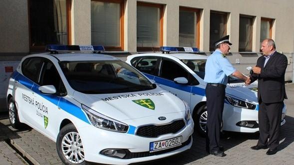 , Autopark mestskej polície sa modernizuje