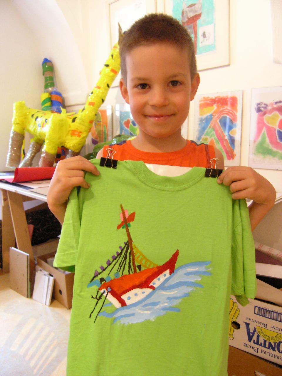 , Veselé tvorivé dielne pre deti v Turčianskej galérií