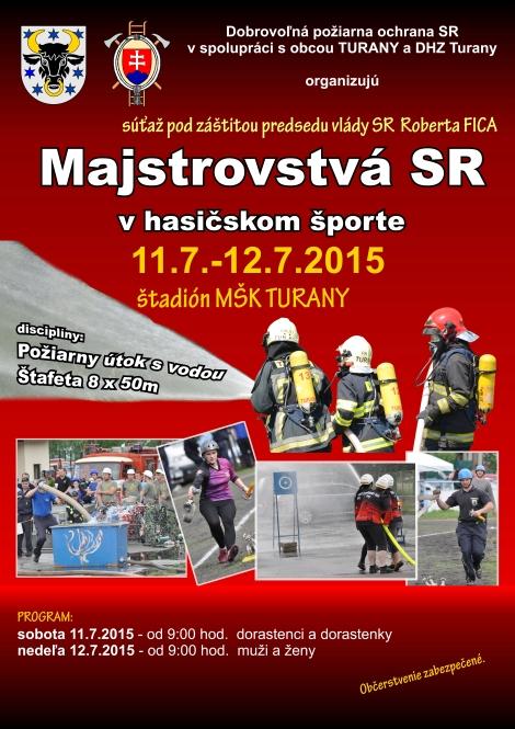 , Dobrovoľní hasiči z Trnového zabojujú na Majstrovstvách Slovenska v Turanoch