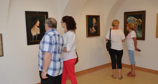 , Výstava Jána Mráza: Portréty, autoportréty a…