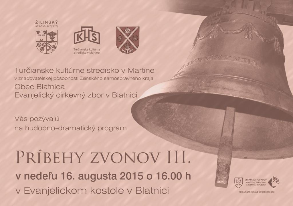 , Príďte do Blatnice na Príbehy zvonov
