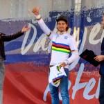, Žilina búrlivo privítala majstra sveta v cestnej cyklistike Petra Sagana