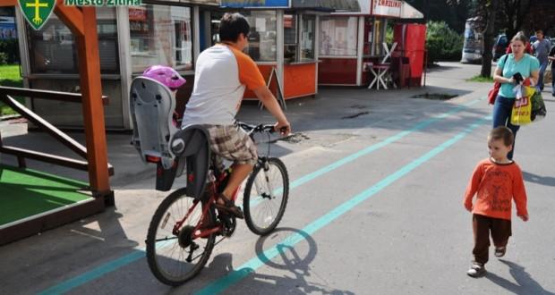 , Mesto Žilina dbá o dobrý stav cyklistickej infraštruktúry