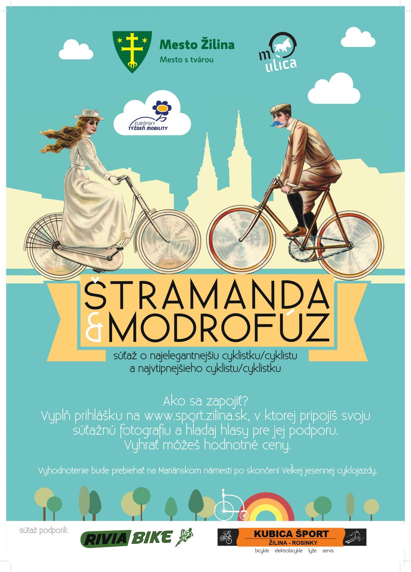 , Zapojte sa do súťaže Štramanda & Modrofúz