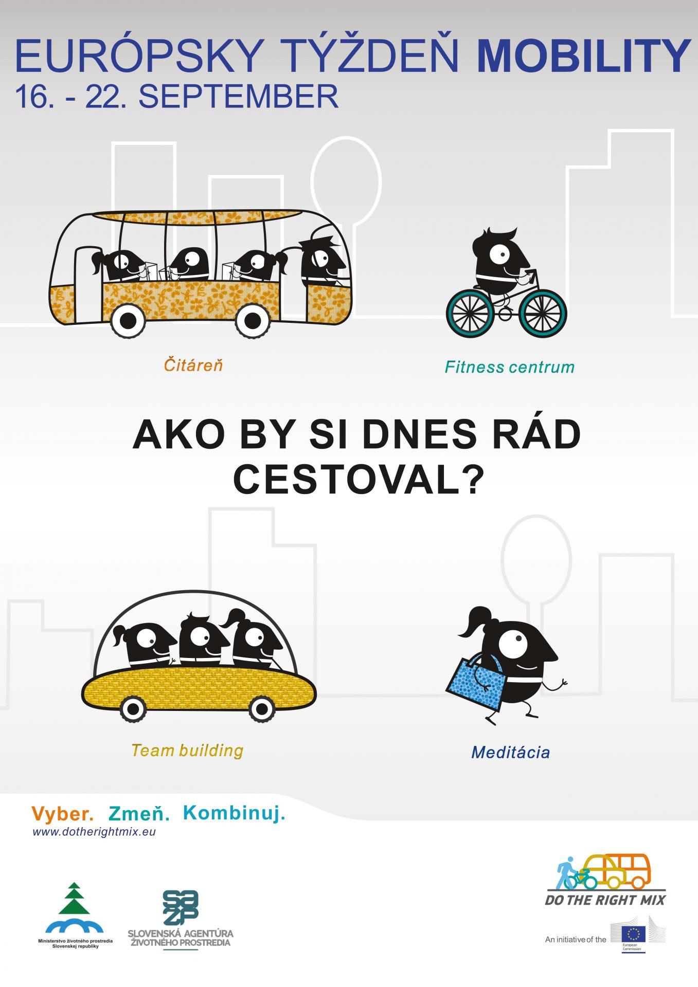 , Zapojte sa do Európskeho týždňa mobility 2015