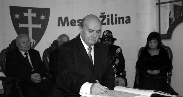 , Včera nás opustil Čestný občan mesta Žilina Milan Novák