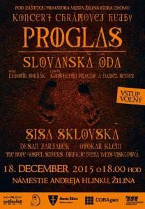 , Koncert Proglas – Slovanská óda so Sisou Sklovskou