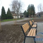 , Zrekonštruovaný park vmestskej časti Bánová