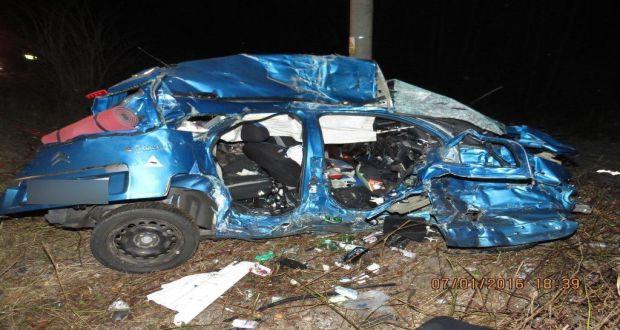 , Pri tragickej nehode vyhasli dva ľudské životy