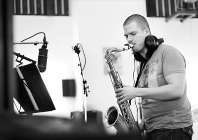 , Jazzový saxofonista Nikolaj Nikitin v Martine