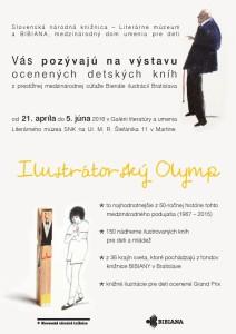 , Výstava ocenených detských kníh Ilustrátorský Olymp