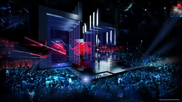 , Švédi vytvárajú veľkolepé eurovízne pódium s množstvom zaujímavých efektov