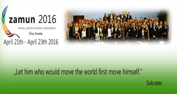 , Piaty ročník medzinárodnej študentskej konferencie ZAMUN