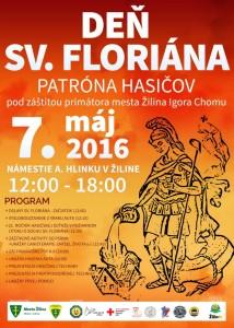 , Deň sv. Floriána na Námestí Andreja Hlinku v Žiline