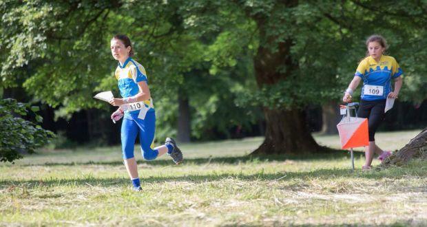 , Majstrovstvá Slovenska vorientačnom behu na Mariánskom námestí v Žiline