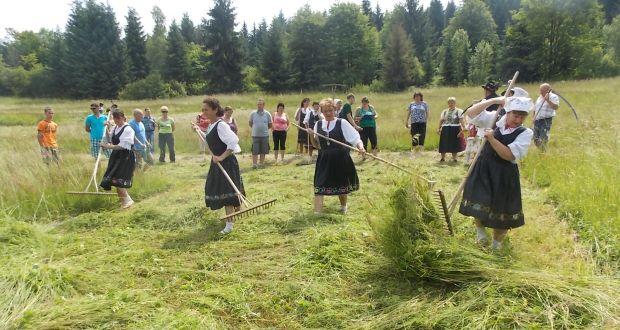 , Príďte na celoslovenskú súťaž v kosení trávy Mám ja kosu, kosičku…