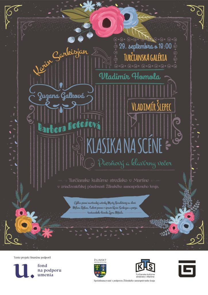 , Turčianskou galériou sa bude ozývať hudba a piesne