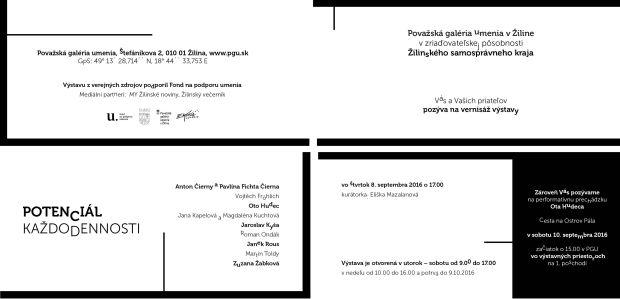 , Septembrové výstavy v Považskej galérii umenia v Žiline
