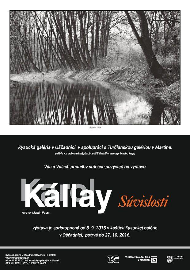 , Výstava Karola Kállaya v kaštieli Oščadnica pri príležitosti jeho nedožitých 90-tych narodenín