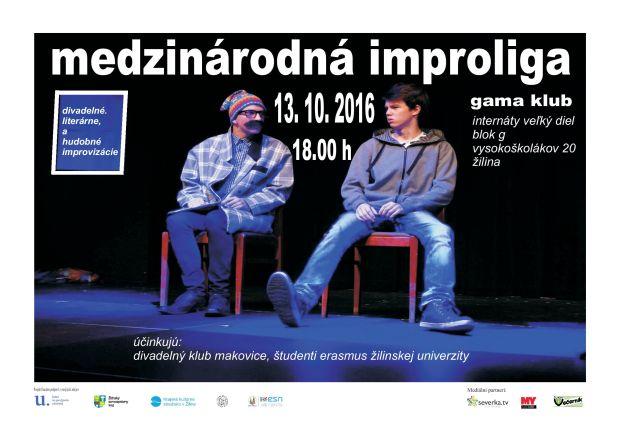 , Po krátkej prestávke sa môžete opäť tešiť na Medzinárodnú Improligu v Žiline