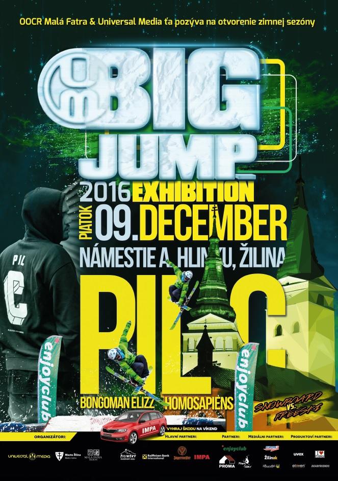 , Big Jump otvorí zimnú sezónu v Malej Fatre