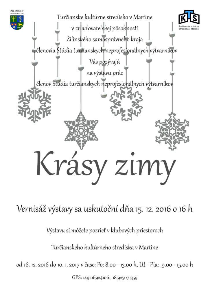 , Výstava turčianskych neprofesionálnych výtvarníkov: Krásy zimy