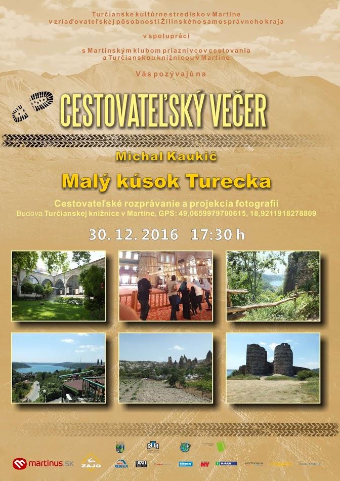 , Cestovateľský večer: Malý kúsok Turecka