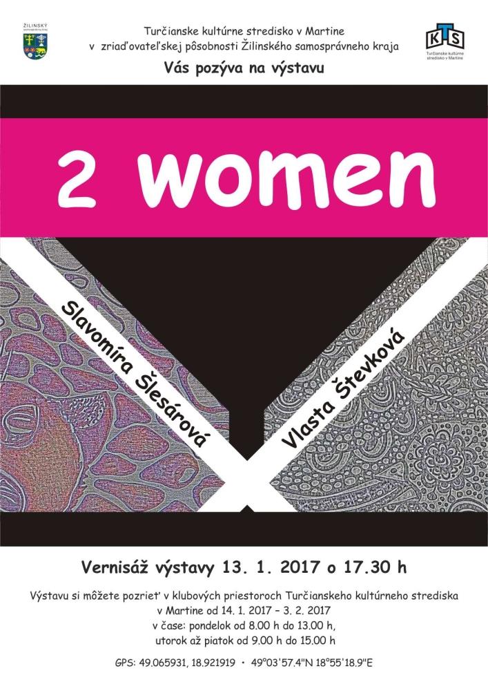 , 2WOMEN: výstava výtvarných diel odkrývajúcich vnútorný svet ženskej duše