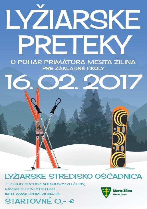 , Lyžiarske preteky o Pohár primátora mesta Žilina