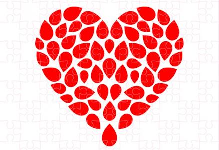 , Valentínska kvapka: Lásku máme v krvi. Dokáž to aj Ty!