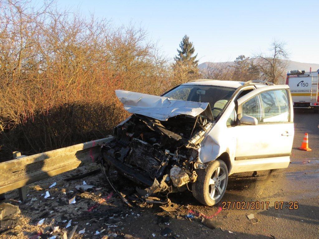 , Tragická dopravná nehoda si vyžiadala život jedného z vodičov