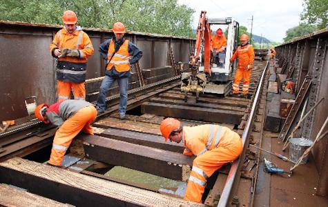 , ŽSR vykonajú opravy na moste nad Kysuckou ulicou v Žiline
