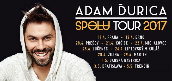 , Adam Ďurica na Spolu tour 2017: V apríli aj v Martine a Žiline!