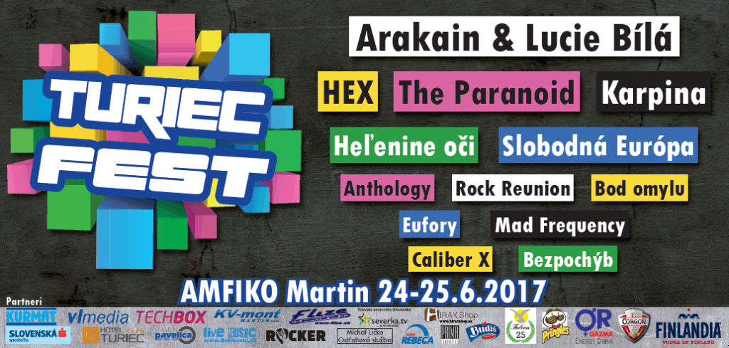 Turiec Fest, Za kvalitným hudobným festivalom nemusíte cestovať ďaleko. Blíži sa Turiec Fest 2017
