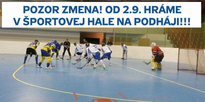 , Slovenská Hokejbalová Extraliga odštartuje v Martine
