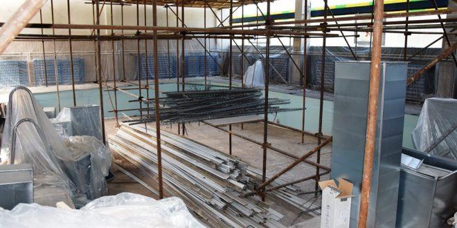 , Bazénová hala pri ZŠ Martinská prechádza rekonštrukciou